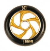 841 Wheel forged 5 Star III - schwarz/gold