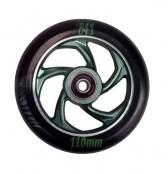 841 Wheel forged 5 Star III - schwarz/grün