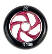 841 Wheel forged 5 Star III - schwarz/lila