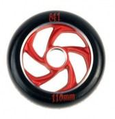 841 Wheel forged 5 Star III - schwarz/rot