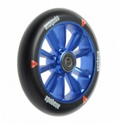 anaquda Engine Wheel 120 mm - schwarz/blau