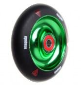 anaquda Wheel -FullCore - 100 mm - schwarz/grün