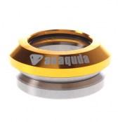 anaquda integrated Headset - shiny gold