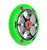 anaquda spoked wheel 110 - grün/titan grau