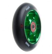 anaquda spoked wheel 100 - schwarz/grün