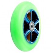 anaquda Wheel Taipan 110 mm - grün/blauchrome