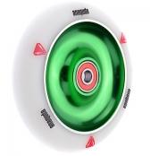 anaquda Wheel - FullCore - 110 mm - weiss/grün