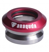 anaquda Headset integrated - rot