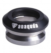 anaquda Headset integrated - schwarz