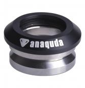 anaquda Headset integrated - schwarz