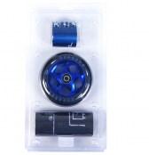 AO Quadrum Wheel 110 mm inkl. Titen ABEC-7 - schwarz/blau