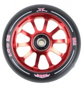 AO Delta 10 Hole Wheel 100 mm - rot