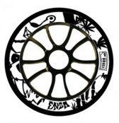 AO Enzo 2 Wheel 110 mm inkl. ABEC-9 Kugellager - schwarz