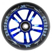 AO Quadrum Wheel 100 mm inkl. Titen ABEC-7 - schwarz/blau