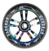 AO Quadrum Wheel 100 mm inkl. Titen ABEC-7 - schwarz/oil slick