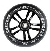 AO Quadrum Wheel 100 mm inkl. Titen ABEC-7 - schwarz/schwarz