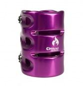 Chilli 3-Bolt Clamp -lila
