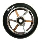 Chilli 6-Spoke Wheel 125 - schoko/silber