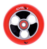 Chilli Parabol Wheel 100mm - schwarz/rot