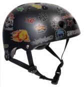 SFR Helm - schwarz Sticker