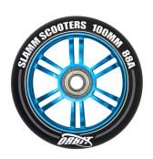 Slamm Wheel Orbit 100 mm - schwarz/blau